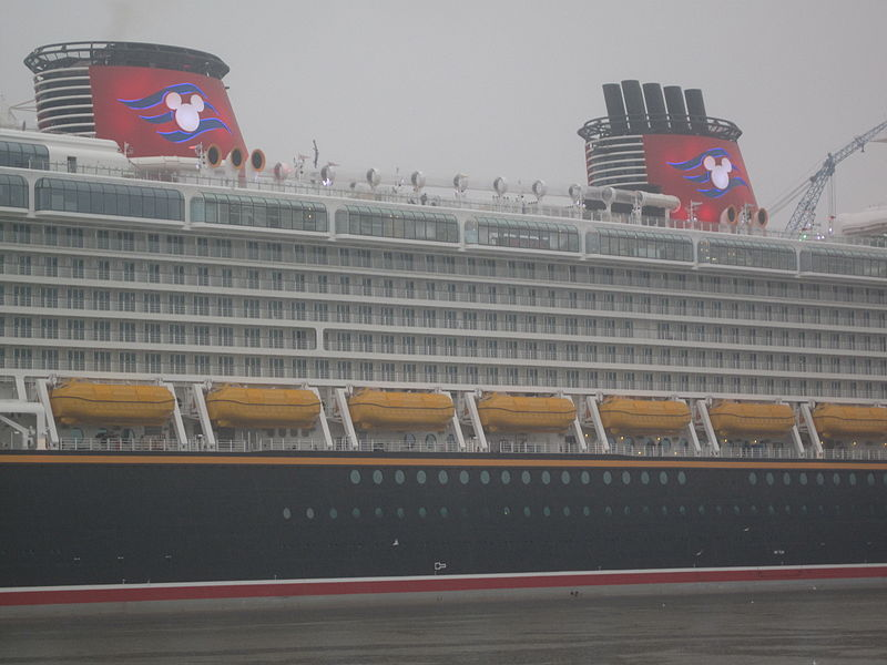The Disney Dream, which hosts numerous theme and special interest cruises each year (Dickelbers/Wikimedia Commons)