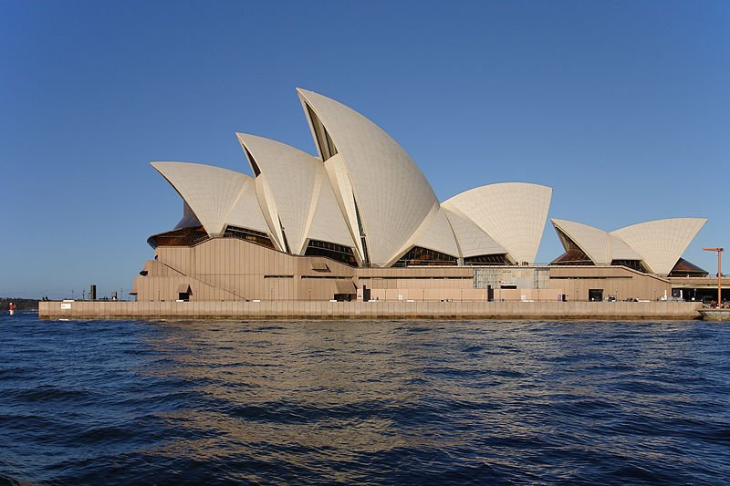 "The ""emblem"" of Sydney: the city's famous Opera House"