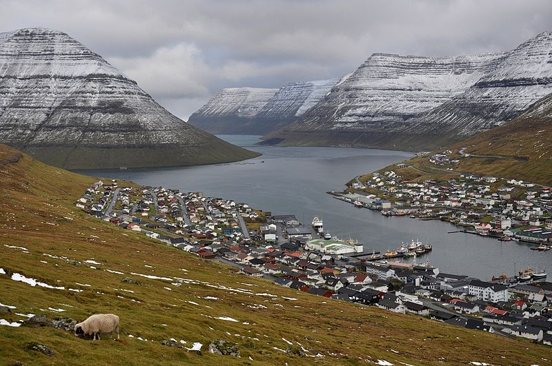 Klaksvík, on the island of Borðoy, is the Faroe Islands' second-largest town. (Vincent van Zeijst)