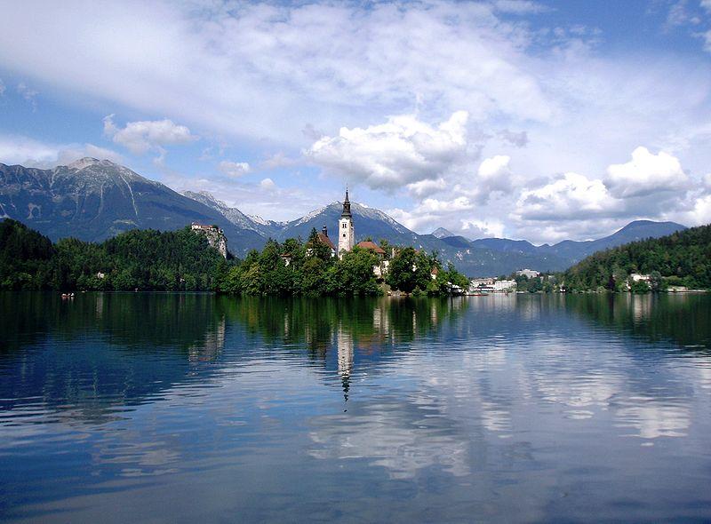 Lake Bled, Solvenia (Wikimedia)