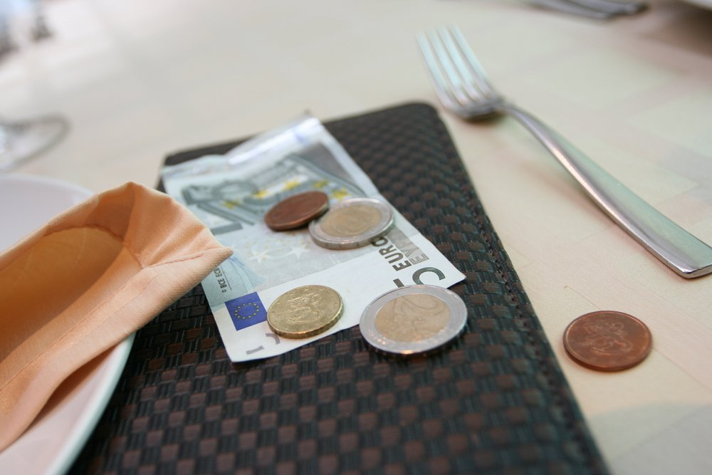 Outside the U.S., people prefer that you tip in the local currency rather than in U.S. dollars.