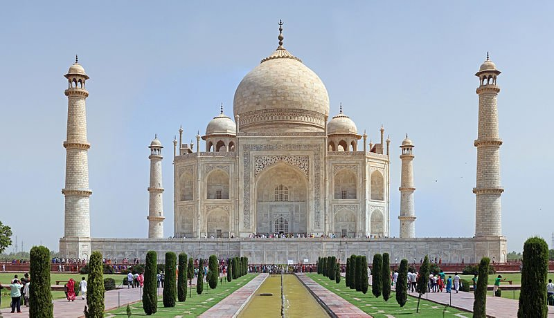 "The Taj Mahal, one of the most frequently photographed buildings in the world, is a highlight of a trip to Rajasthan (""the land of kings""), the largest state in the Republic of India (Wikimedia)"
