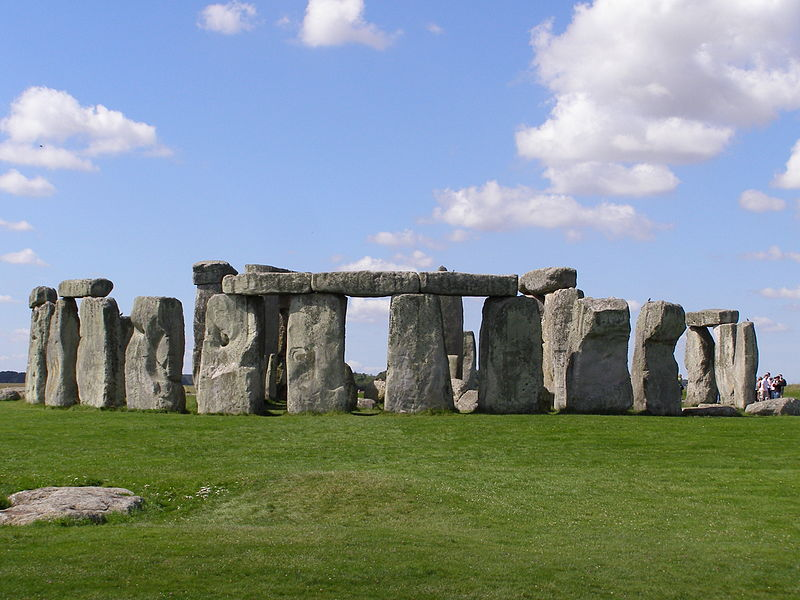 One of the world's most readily recognizable sights, the ancient monument of Stonehenge in Wiltshire, England, is—to the amazement of many travelers—just a short drive from London's Heathrow Airport. (Wikimedia)