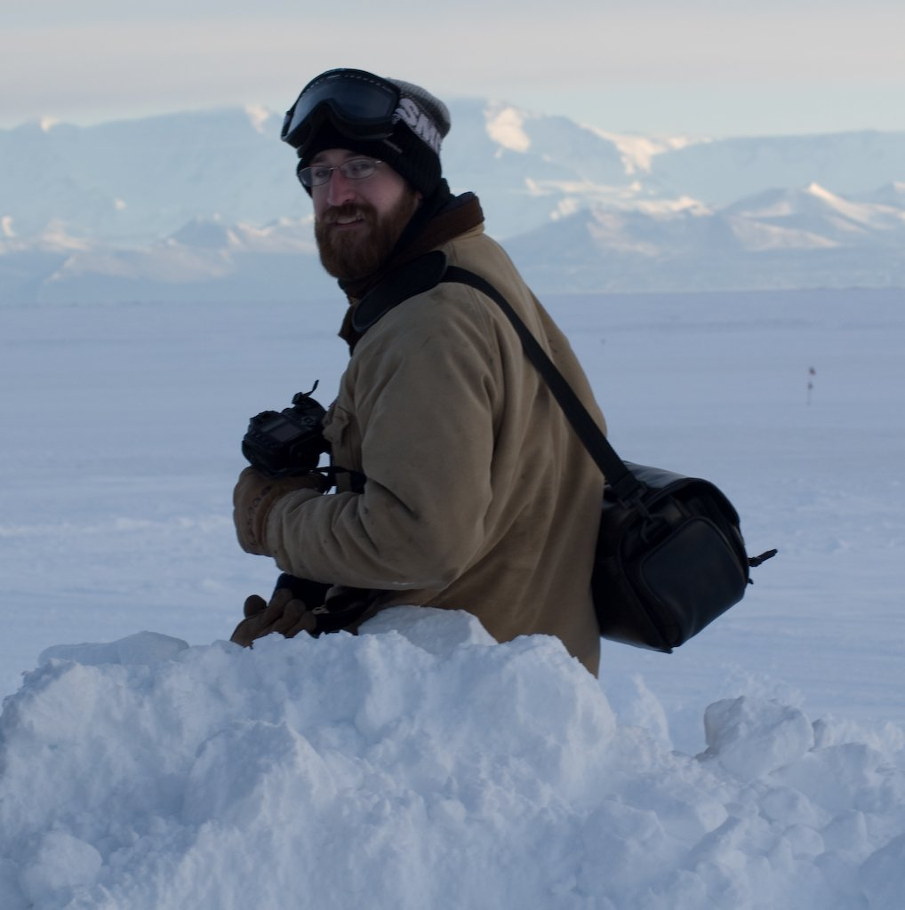 Dave Barud, a veteran of 4 years on the icy continent