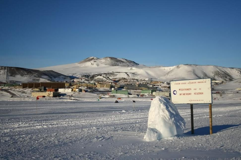 Mc Murdo Station, 1 of the 3 U.S. bases in Antarctica