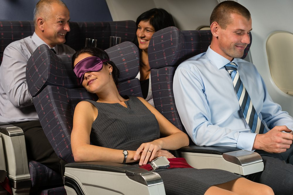 """Red eye"" flights can be challenging for many people. Here are some tips to help make the experience a little more pleasant and, with some luck, get some restful sleep."