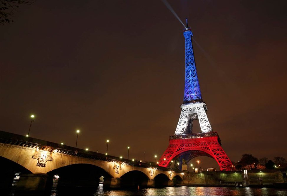 France in mourning