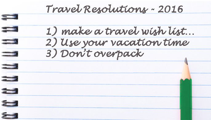 Make your own travel resolution list today